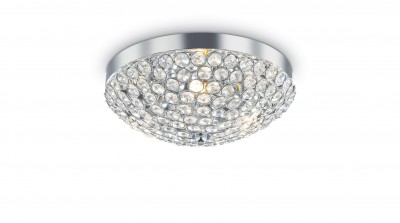 Kristall Deckenleuchter ORION Ø40cm 5-flammig chrom