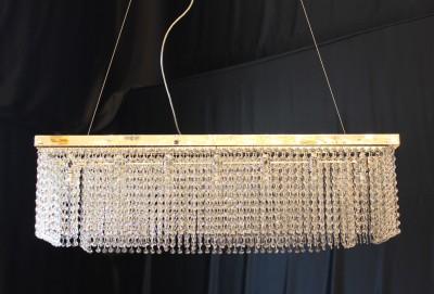 Pendelleuchte PHANTASIE 120cm gefertigt mit SPECTRA® Crystal von SWAROVSKI