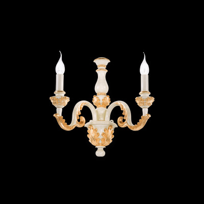 wall light GIGLIO AP2 gold antique