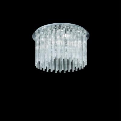 modern ceiling lamp ELEGANT Ø50cm chrom