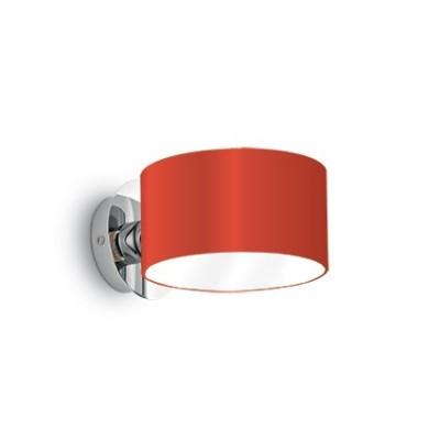 Wandleuchte ANELLO AP1 Ø15cm rot