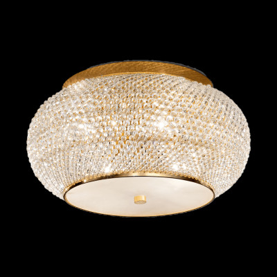 ceiling light PASHA 6-flames Ø40cm gold