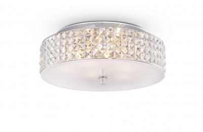 Kristall Deckenleuchter ROMA Ø40cm 6-flammig chrom
