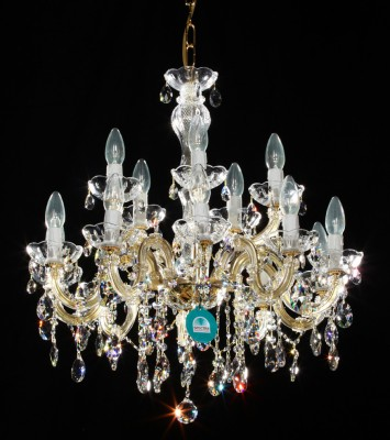 chandelier 15 arms made with SPECTRA® Crystal by SWAROVSKI MSRP 799¤