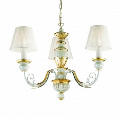 chandelier FLORA SP3 3-arms golden beige