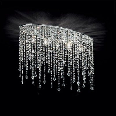 ceiling lamp oval 69cm made with SPECTRA® Crystal by Swarovski