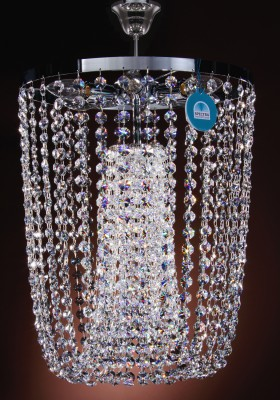 ceiling lamp Ø50cm made with SPECTRA® Crystal by Swarovski MSRP 1499¤