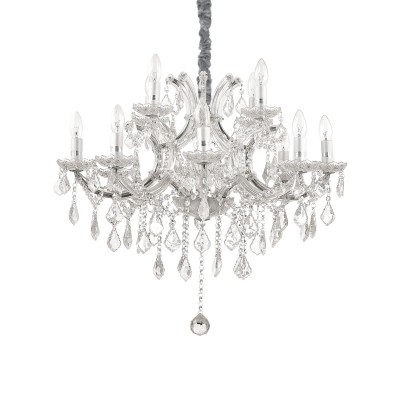 crystal chandelier NAPOLEON Ø73cm 12 arms with SPECTRA® Crystal by Swarovski