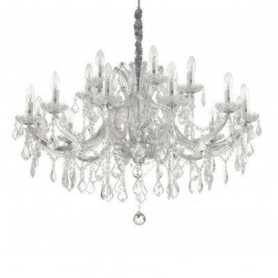 chandelier 18 arms Ø94cm with SPECTRA® Crystal by Swarovski