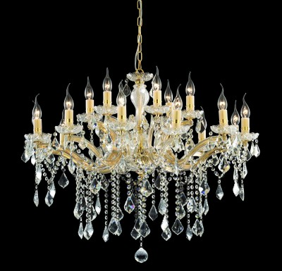 crystal chandelier 18 arms Ø86cm with SPECTRA® Crystal by SWAROVSKI