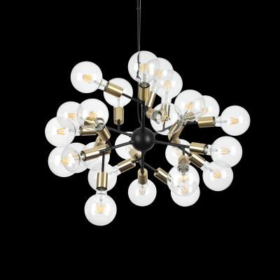 Lamp SPARK 24 lights black