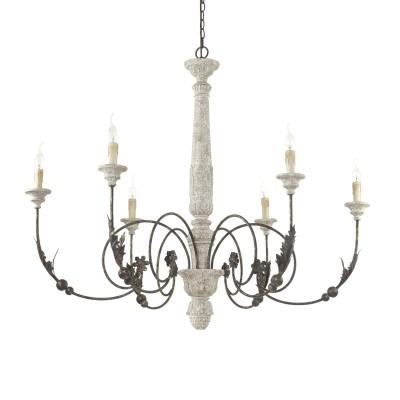 chandelier VOLTERRA 6 arms Ø110cm