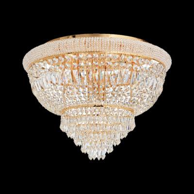 ceiling lamp Ø78cm 24-flammig chrome or gold