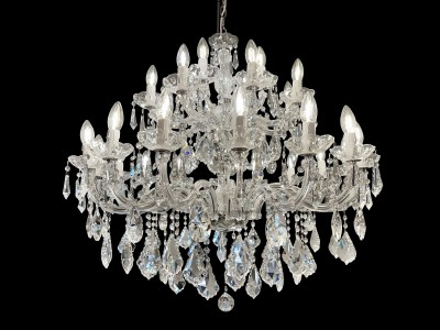 chandelier 28 arms made with SPECTRA® Crystal by SWAROVSKI