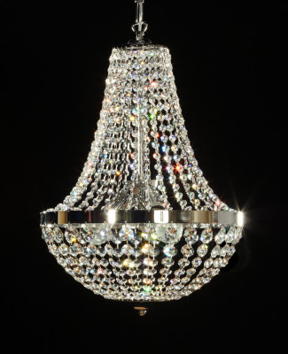 chandelier Ø40cm with crystal glass TRAUMKRISTALL©