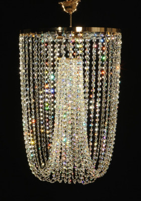 Crystal ceiling lamp Ø50cm made with SPECTRA® Crystal by SWAROVSKI 1699¤