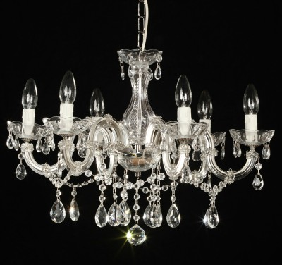 Venice chandelier brass or nickel 6 arms MSRP 199¤