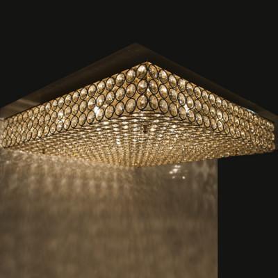 Deckenleuchter ADMIRAL 8-flammig Ø51cm chrom oder gold
