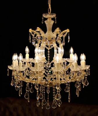 chandelier Princess 18 arms made with SPECTRA® Crystal by SWAROVSKI