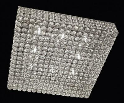 Deckenleuchter ADMIRAL 10-flammig Ø60cm chrom oder gold
