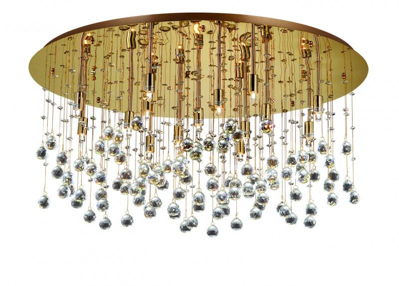 deckenleuchte goldfarben glas pendelleuchte modern. Black Bedroom Furniture Sets. Home Design Ideas