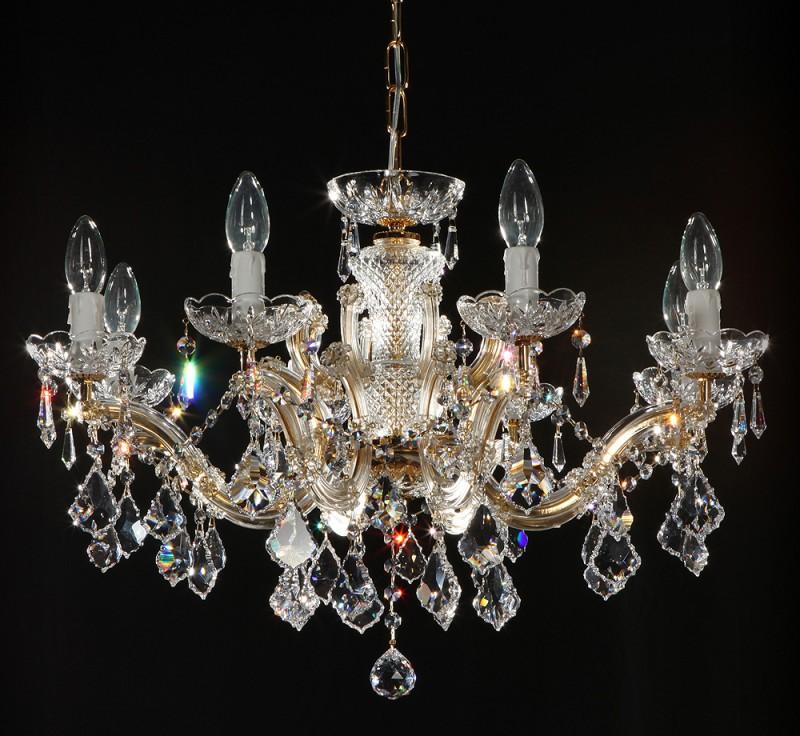 Kronleuchter Swarovski Kristall 8-armig
