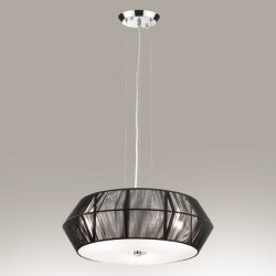 pendant lamp SWEET HOME 3-flames Ø53cm black