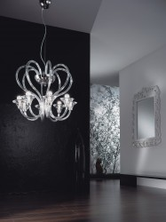 Venice crystal chandelier Ø65cm 8 arms MSRP 1299¤