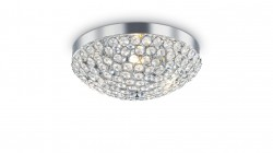 ceiling light ORION 5-flames Ø40cm chrome