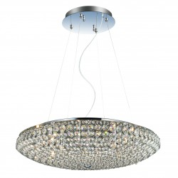 Pendant light KING SP12 Ø65cm chrom