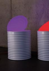 LichtDosis Ø23cm mit Farbwechsel RGB-LED Leuchtmittel und Fernbedienung