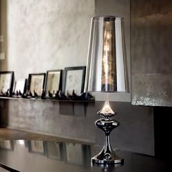 Tischlampe ALFIERE TL1 big Ø22cm chrom