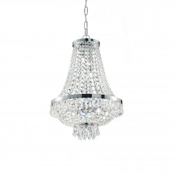 chandelier CAESAR SP9 Ø45cm chrome