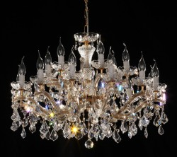 chandelier 18 arm made with SPECTRA® Crystal by SWAROVSKI MSRP 1799¤
