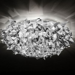 VELI PRISMA Ceiling-Wall lamp 76cm silver from SLAMP