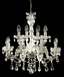 Venice crystal chandelier 12 arms <s>299€</s>