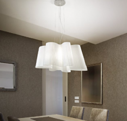 pendant light SMUG SP1 Ø70cm white