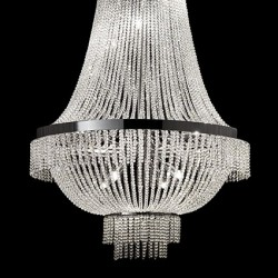 crystal chandelier AUGUSTUS SP12 chrome