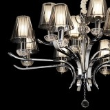 chandelier EVENT 12 arms Ø93cm chrome