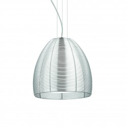 Pendant light JET SP1 BIG Ø30cm silver
