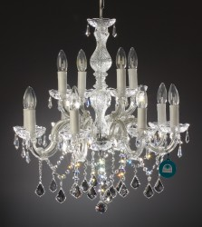 chandelier 12 arms made with SPECTRA® Crystal by SWAROVSKI <s>699€</s>