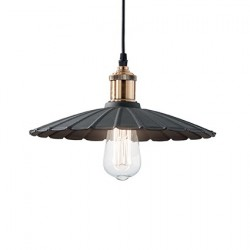pendant lamp GOTHAM SP1 Ø40cm black