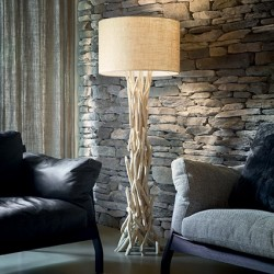 Stehlampe DRIFTWOOD 157cm Holz