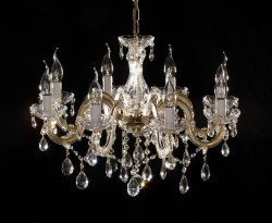 Venetian chandelier 8 arms 60cm brass or nickel MSRP 299,-¤