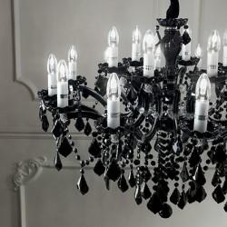 crystal chandelier FLORIAN Ø72cm 12 arms
