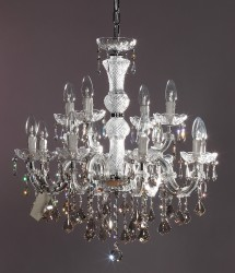 chandelier 12 arms made with SWAROVSKI® ELEMENTS