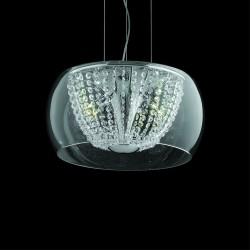 Lamp Ø40cm chrome Swarovski Crystal