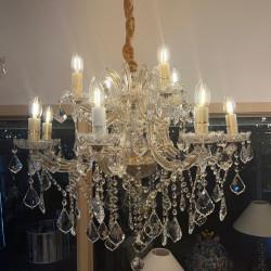 crystal chandelier NAPOLEON Ø73cm 12 arms