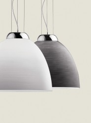 pendant lamp TOLOMEO SP1 Ø40cm grey or white