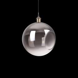 Lamp RUSTIK 1 light smoked Ø30cm